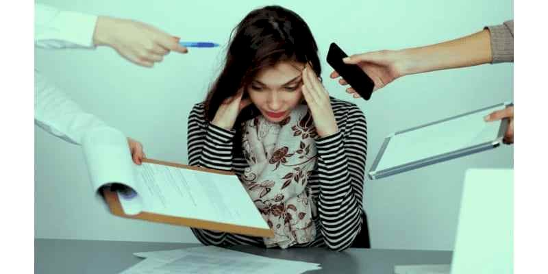 STRESS : In easy terms is a feeling or emotion that arises in humans.